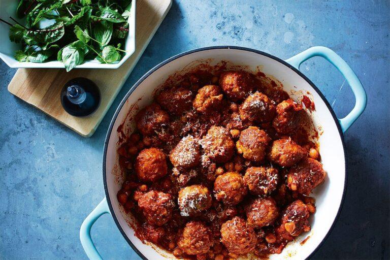Savoury Meatballs